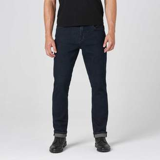DSTLD Mens Slim Jeans in Midnight Blue Overdye