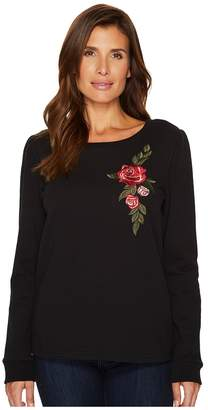 Sanctuary Rosalind Embroidered Sweater Women's Long Sleeve Pullover