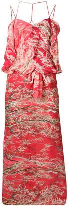 DAY Birger et Mikkelsen Anntian branch printed dress
