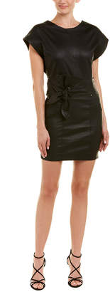 IRO Altina Leather Shift Dress