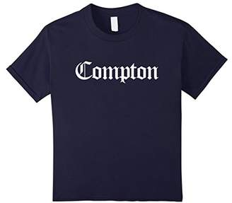 Compton Los Angeles California Old English Font T-Shirt
