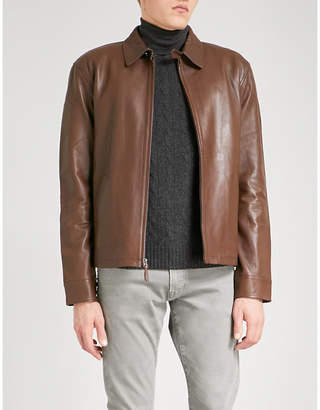 Polo Ralph Lauren Maxwell leather jacket
