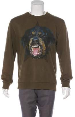 Givenchy Rottweiler Signature T-Dart Sweatshirt olive Rottweiler Signature T-Dart Sweatshirt