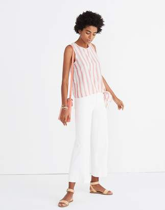 Madewell Side-Tie Tank in Marcia Stripe