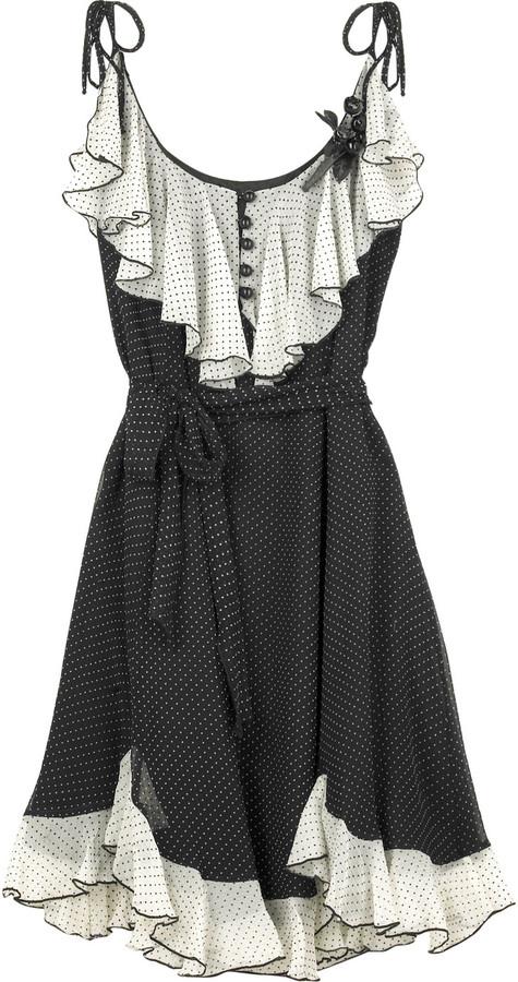 Anna Sui Dot print dress