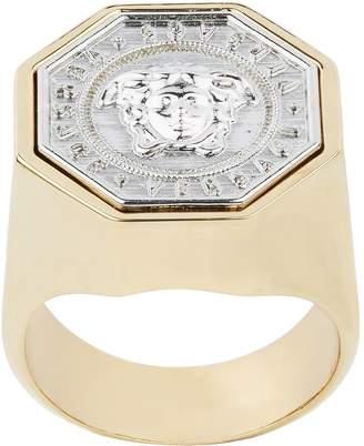 Versace Octagon Medusa Ring