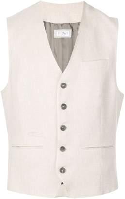 Brunello Cucinelli button up vest