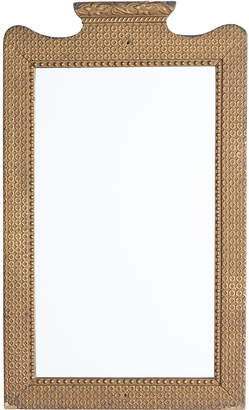 Rejuvenation Tall Mirror w/ Quilted Gilt Gesso Frame