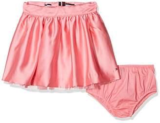 Tommy Hilfiger Girl's C Satin Skirt,(Size: 7)
