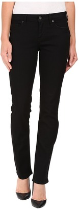 Calvin Klein Jeans Straight Jeans in True Black $69.50 thestylecure.com