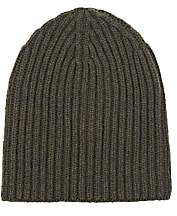 Loro Piana Men's Cashmere Beanie - Green