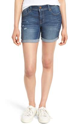 1822 Denim Roll Cuff Denim Shorts