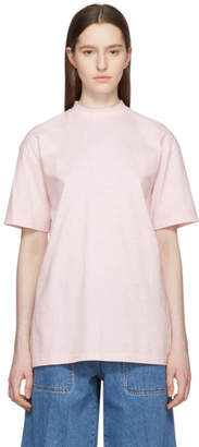 Acne Studios Pink Gojina Dyed T-Shirt