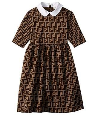 Fendi Logo Dress (Big Kids)