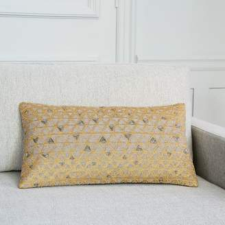 west elm Embellished Triangle Pillow Cover