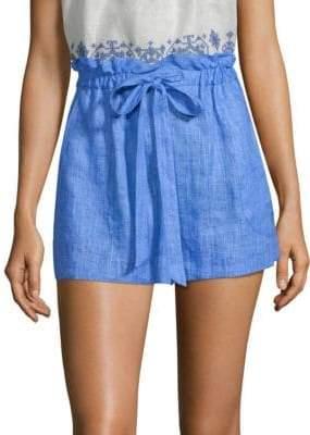 Milly Kori Linen Shorts