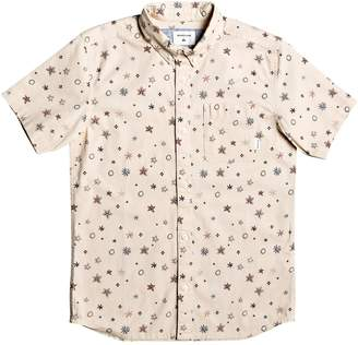 Quiksilver Ditsy Print Button-Down Shirt
