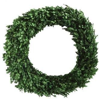 CREATIVE CO-OP Boxwood Preserved Wreath