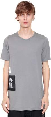 Rick Owens Drkshdw Patches Cotton Jersey T-Shirt