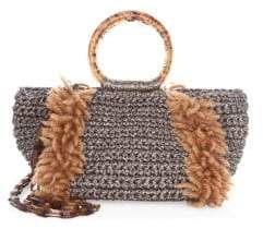 Carolina Santo Domingo Wool Corallina Crossbody