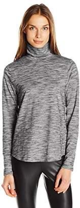 Jones New York Women's Funnel Neck Space Dye Pullover $11.28 thestylecure.com