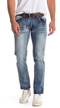 X-Ray XRAY Faded Straight Leg Jeans