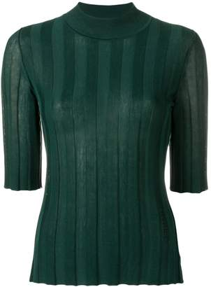 Sonia Rykiel fitted ribbed jumper