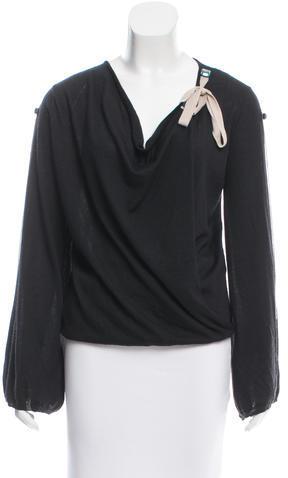 MissoniMissoni Cashmere Crystal Embellished Sweater