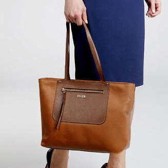 NEW Duet Tan Luxury Womens Tote Bag by VIVER Leather