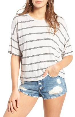 Women's Michelle By Comune Mingus Stripe Tee $28 thestylecure.com