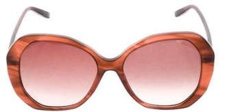 Bottega Veneta Gradient Oversize Sunglasses