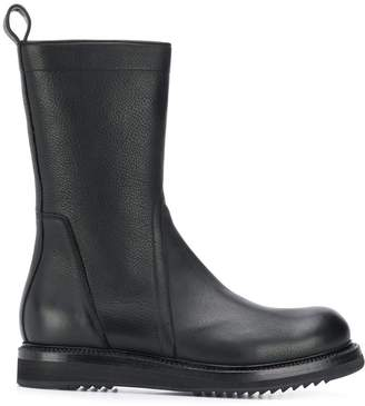 Rick Owens ankle zipped boots