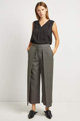 French Connenction Cedany Suiting Birdseye Culottes