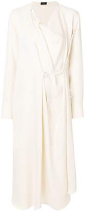 Joseph wrap midi dress