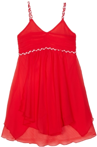Blush by Us Angels Girls 7-16 Sundress with Braided Detail