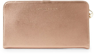 adrienne vittadini Rose Gold Large Portfolio Wallet $34 thestylecure.com