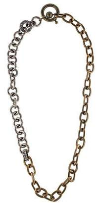 Lanvin Two-Tone Chain-Link Necklace