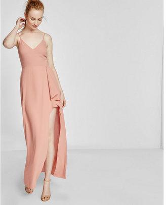 Express High Slit Maxi Dress $79.90 thestylecure.com