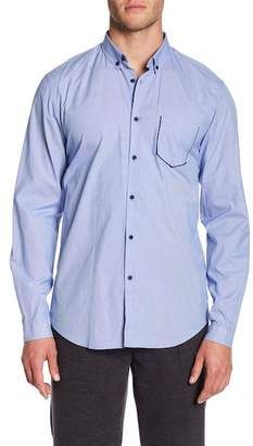 The Kooples Mini Popline Slim Fit Shirt
