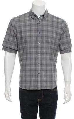 Public School Button-Up Polo Shirt