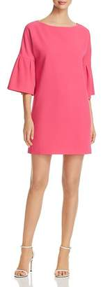Badgley Mischka Bell-Sleeve Shift Dress - 100% Exclusive