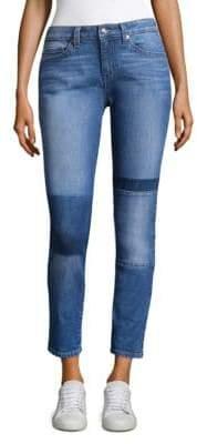 Derek Lam Patchwork Skinny Jeans