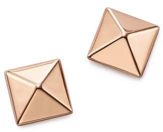 Bloomingdale's 14K Rose Gold Medium Pyramid Post Earrings - 100% Exclusive