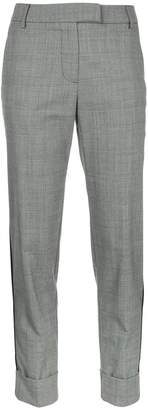 Taylor glen plaid cropped trousers