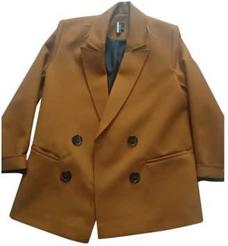 Topshop Tophop Boutique Orange Jacket for Women