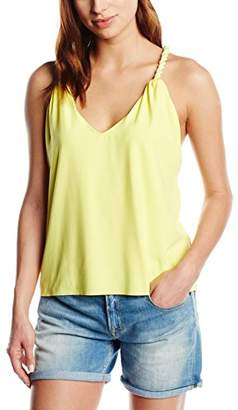 Canobio Women's Sleeveless Tops - Yellow