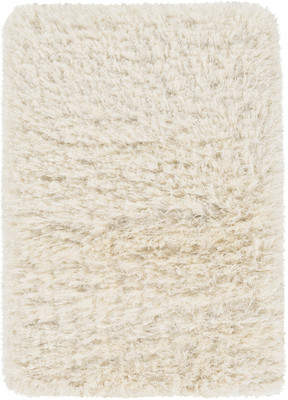 Bungalow Rose Sina Hand-Woven Peach Cream Area Rug