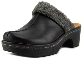 Clarks Preslet Grove Women US 7 Black Mules
