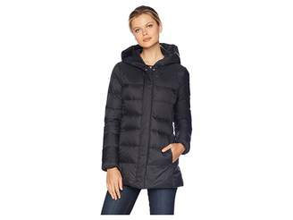 Cole Haan 29 Shawl Hood Packable Jacket with Back Waist Elastic Detail