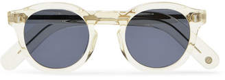 clear Cubitts - Bidborough Round-frame Acetate Sunglasses